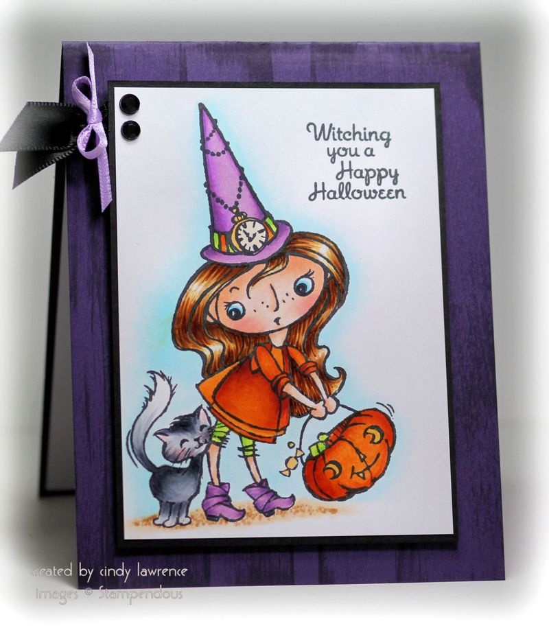 Stampendous Kitty Candy Kiddy 1 - OHS