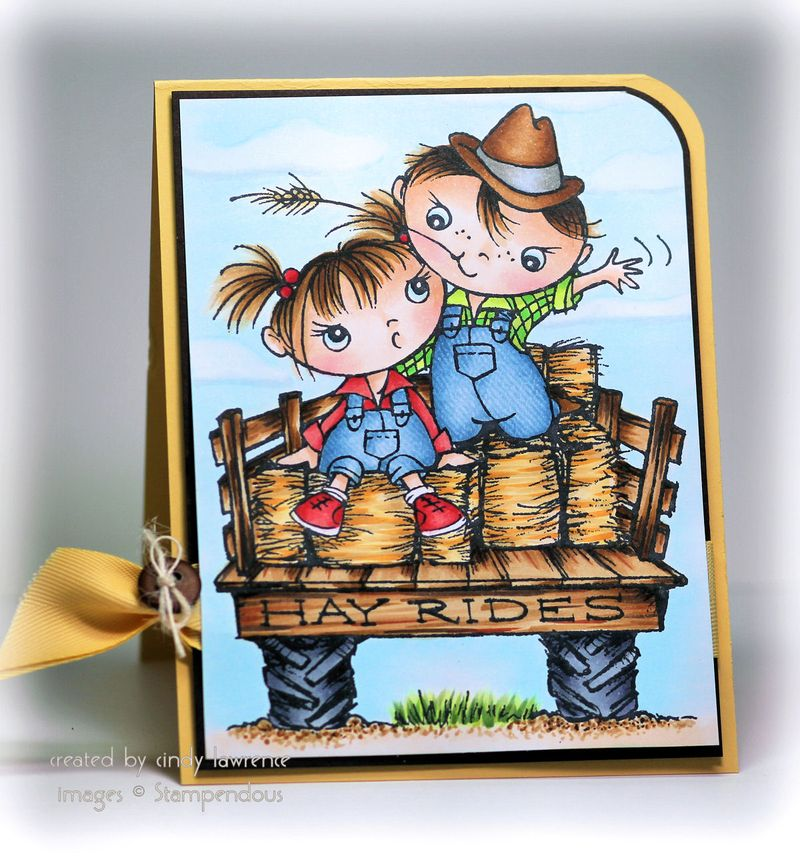 Stampendous Hay Ride Kiddos 1 - OHS