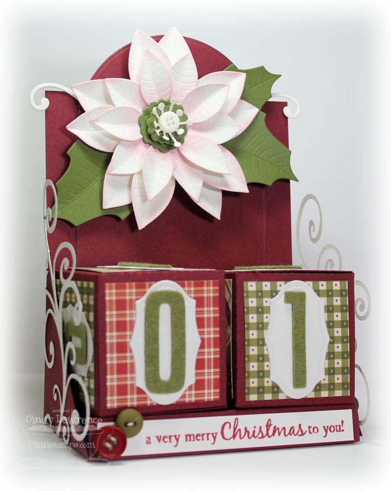 Die-namics Christmas Block Calendar - OHS