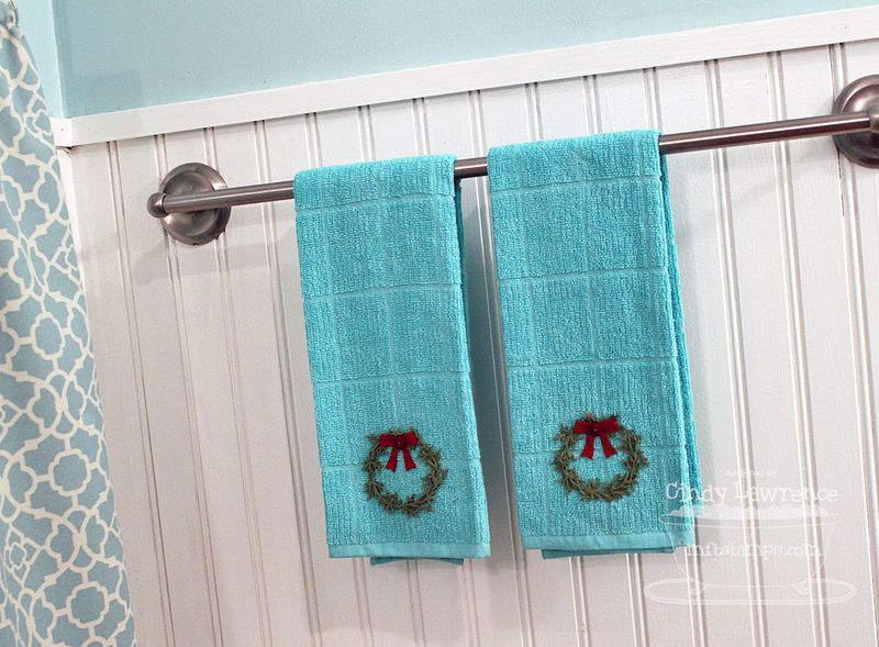 MFT Creative Challenge Holiday Towels 1 - OHS