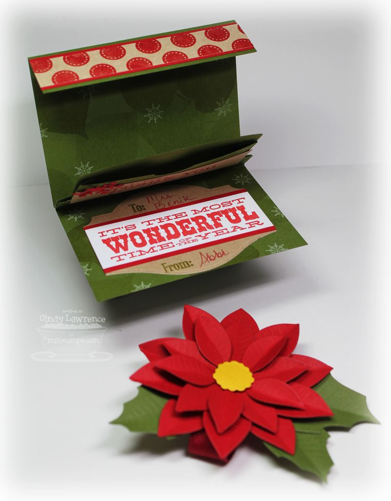 Christmas Gift Card Holder 1 Inside - OHS