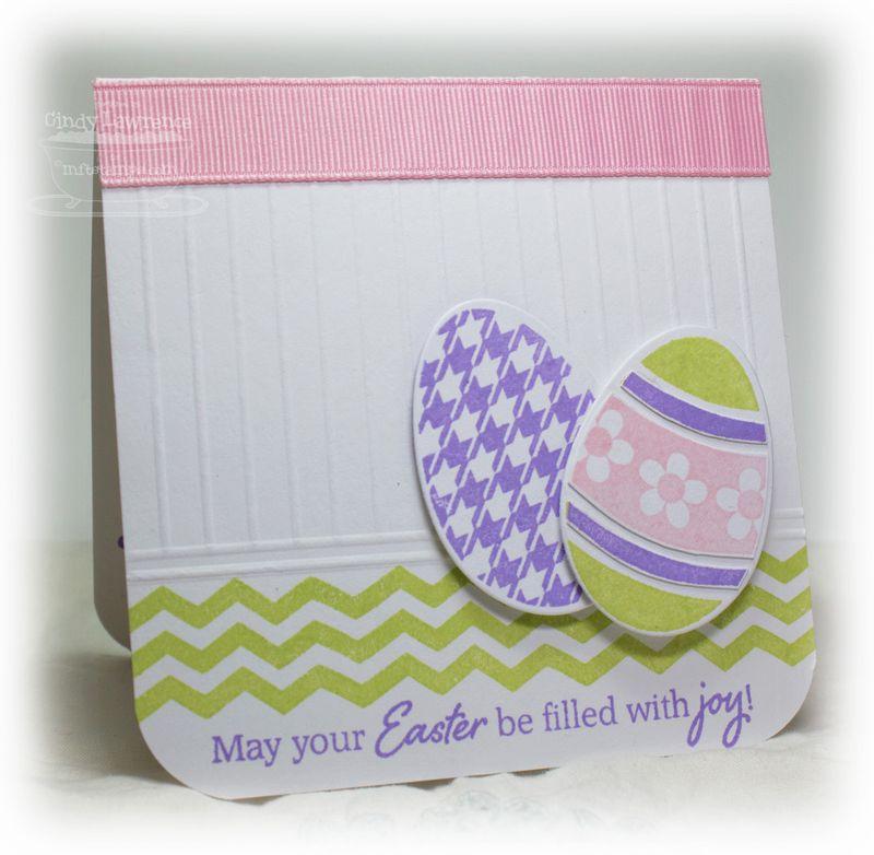 Embellished Eggs Card 1 - OHS