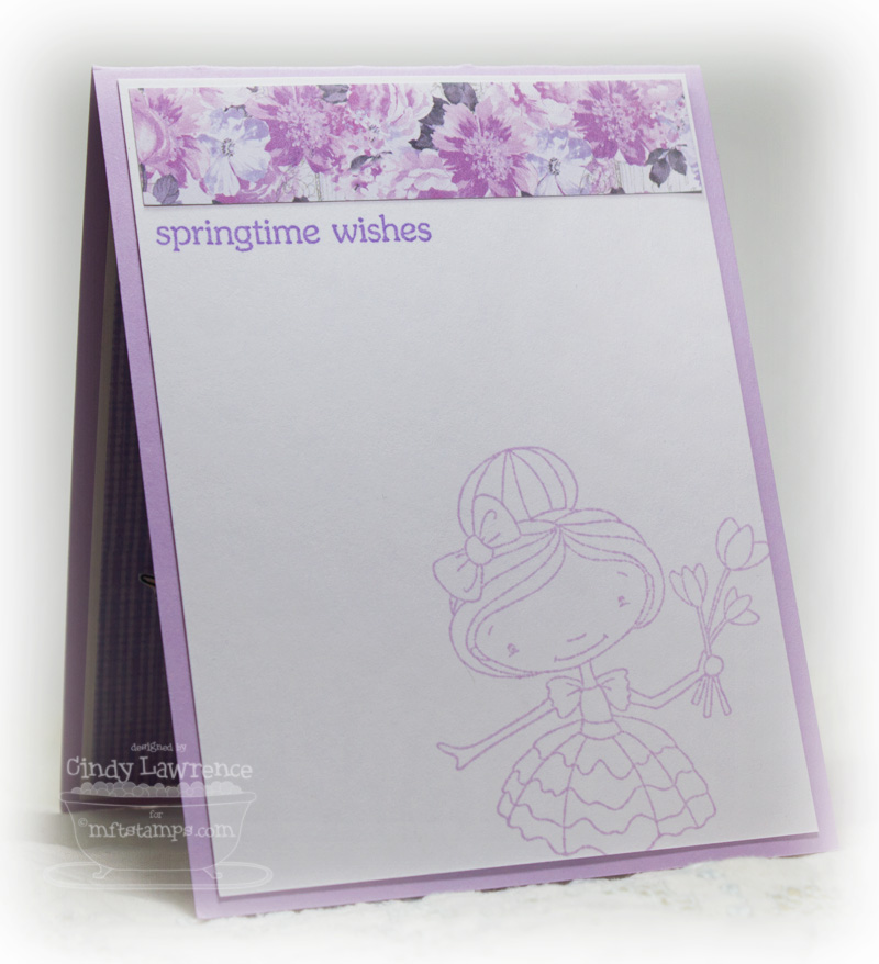 Doodle Garden Springtime Wishes 1 Inside - OHS