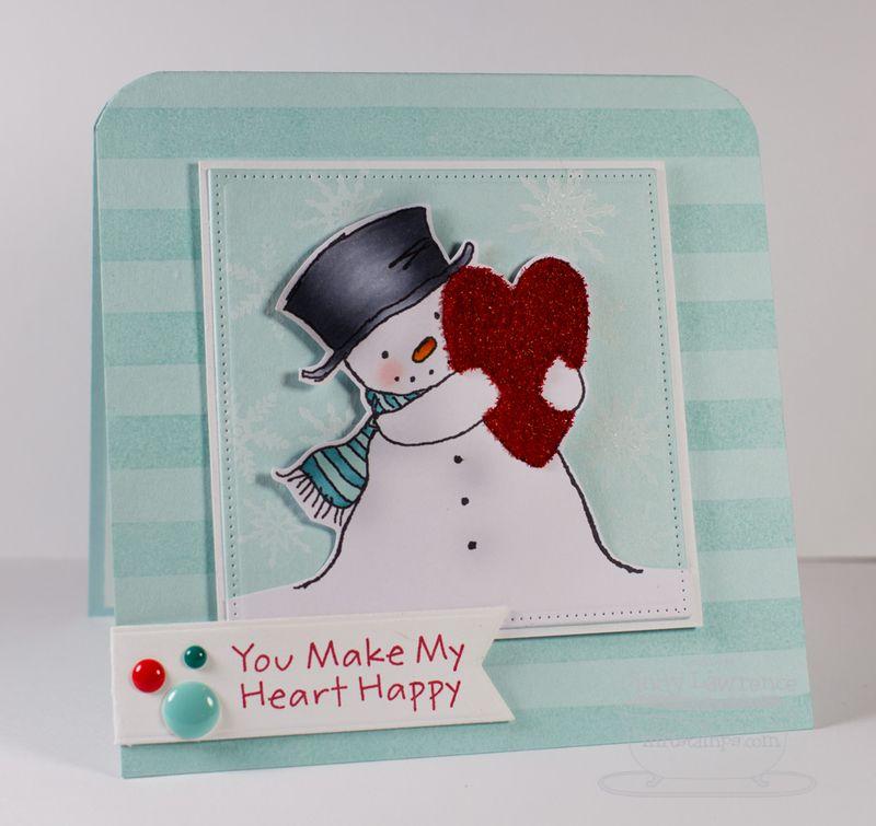 Pure-Innocence-Happy-Heart-Snowman-2-Card---OHS