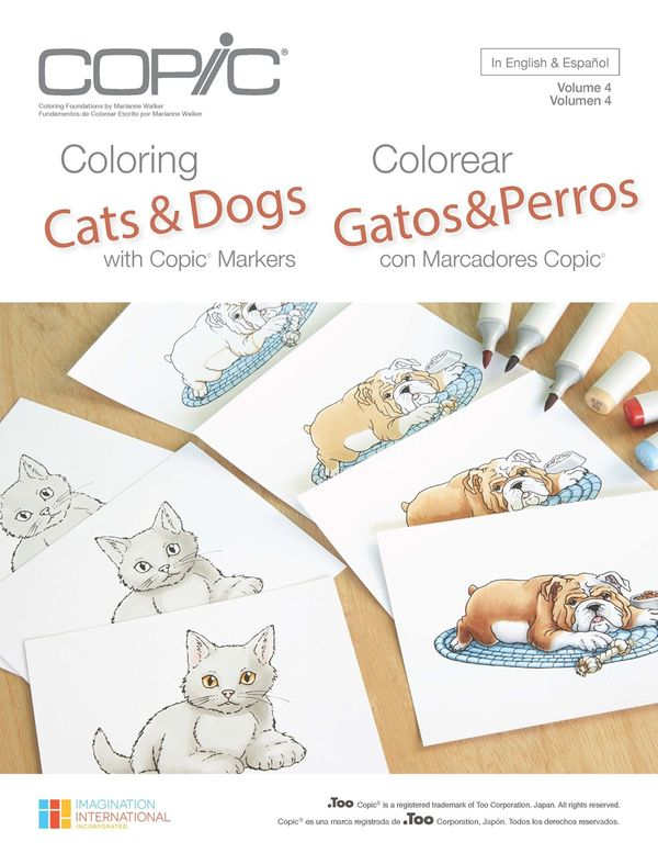 the creative closet by cindy lawrence: Coloring Cats & Dogs ...