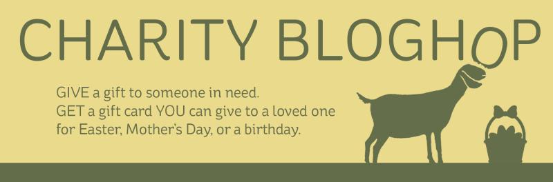Charity Hop blog header
