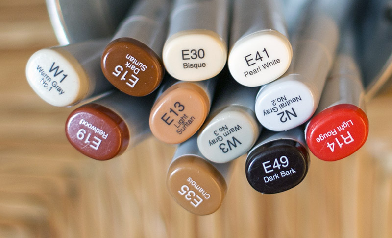Play Ball Copic Markers - OHS