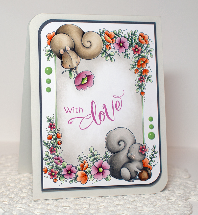 Valentine Line Art - OHS