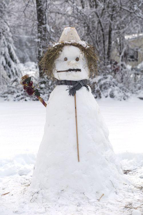 Jim's Thanksgiving Snowman
