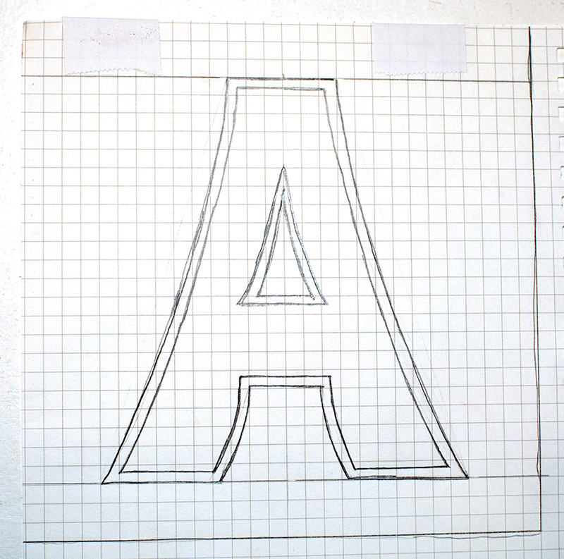Hand Lettering Sample 2 Grid - OHS