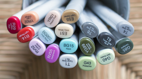 Everythings Rosier Copic Colors - OHS