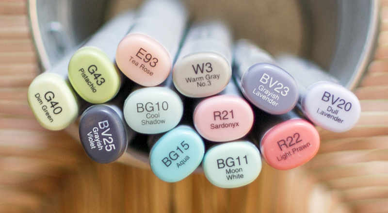 Precious Baby Copic Colors - OHS
