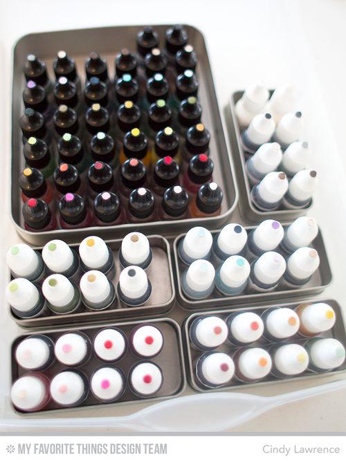 Ink Refill Storage